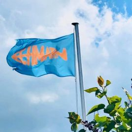 "Flagge ""Fehmarnfisch"""
